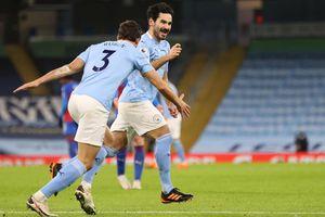 Đè bẹp Crystal Palace, Man City vươn lên vị trí thứ 2 trên bảng xếp hạng
