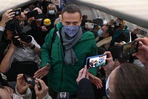 Ông Navalny bị bắt