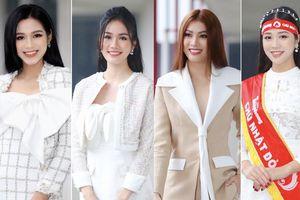 Hoa hậu Đỗ Thị Hà và Á hậu Phương Anh, Ngọc Thảo giản dị vẫn cực xinh đẹp