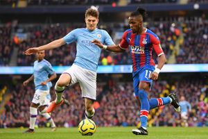 Man City 0-0 Crystal Palace: Chủ nhà ép sân (H1)