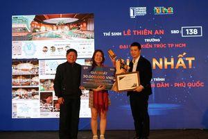 Sinh viên ĐH Kiến trúc TP. HCM giành giải nhất về thiết kế nội thất