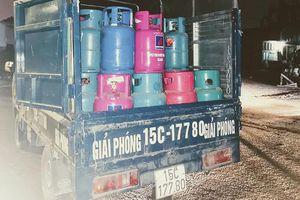 Hải Phòng: Bắt vụ sang chiết gas trái phép tại cảng Lê Quốc