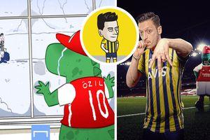 Ảnh chế: Ozil 'sướt mướt' tạm biệt The Gunners, bảnh bao đặt chân đến Fenerbahce