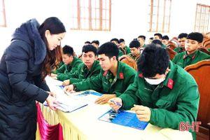 Giúp quân nhân xuất ngũ ở Hà Tĩnh thạo nghề, có việc làm ổn định