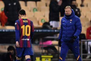Messi có hành động cực sốc, lần đầu nhận thẻ đỏ