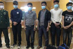 Phát hiện 5 đối tượng nhập cảnh trái phép từ Lào về Việt Nam