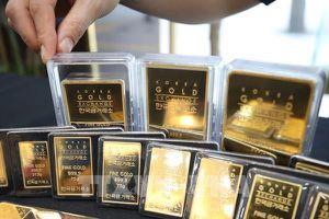 Giá vàng châu Á phiên sáng 18/1 thấp nhất trong gần hai tháng