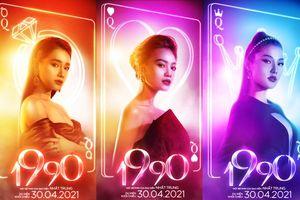 Bộ ba 'ngọc nữ' màn ảnh Nhã Phương - Lan Ngọc - Diễm My cùng tái xuất trong phim điện ảnh mới '1990'