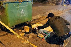 Trích xuất camera truy tìm kẻ vứt bỏ thai nhi cạnh thùng rác trên đường Lê Duẩn