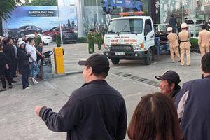 Khởi tố nữ tài xế lao vào showroom ô tô ở Phú Thọ, 1 người thiệt mạng