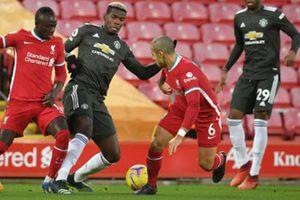 Man Utd giữ vững ngôi đầu khi hòa 0-0 với Liverpool