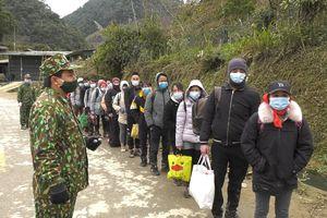 Lào Cai: BĐBP bắt giữ 35 đối tượng nhập cảnh trái phép