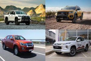 Xếp hạng xe bán tải tháng 12/2020: Ford Ranger giữ ngôi đầu, Isuzu D-max xuống đáy