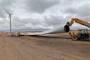 Cánh quạt tuabin gió sẽ được tái chế thành vật liệu cho ngành xi măng