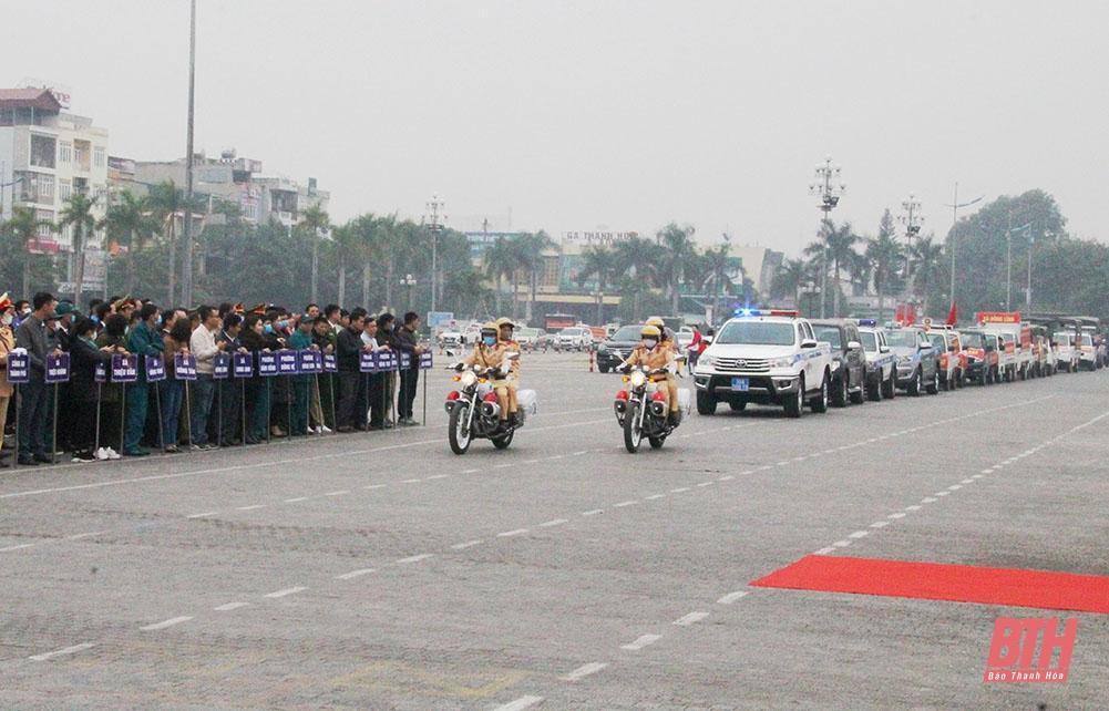 TP Thanh Hóa ra quân đấu tranh với pháo nổ, tăng cường an ninh - trật tự, an toàn giao thông dịp Tết Nguyên đán Tân Sửu 2021