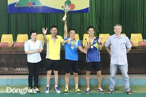 Giải bóng bàn các CLB TP.Long Khánh mở rộng 2021: CLB Bảo Thắng giành giải nhất
