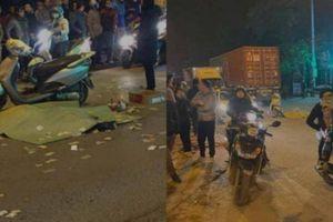 Tai nạn với xe container, người đàn ông đi xe máy tử vong trên QL2