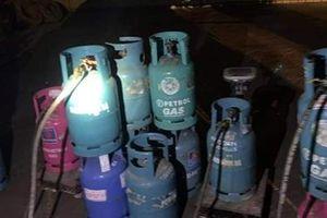Điểm sang chiết gas trái phép hoạt động trở lại ngay sau khi bị phát hiện