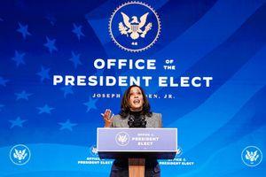 Bà Kamala Harris sẽ từ chức Thượng nghị sĩ
