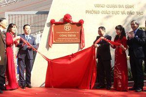 Gắn biển 2 công trình chào mừng Đại hội đại biểu toàn quốc lần thứ XIII của Đảng