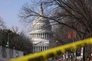 Điện Capitol bất ngờ bị phong tỏa
