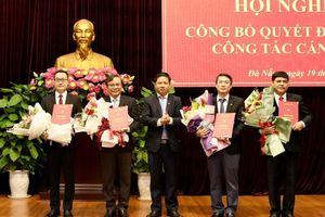 Thành ủy Đà Nẵng bổ nhiệm nhiều cán bộ