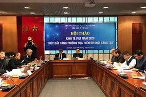 Thúc đẩy tăng trưởng kinh tế Việt Nam dựa trên đổi mới sáng tạo