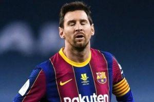 Messi xin lỗi đồng đội sau khi nhận thẻ đỏ