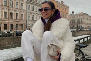 Cách diện đồ mùa đông sành điệu giống dàn fashionista Nga