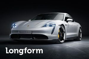 Porsche Taycan được bình chọn là smart car tốt nhất năm 2020
