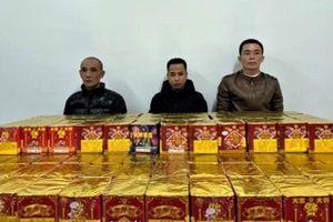 Ngăn vụ vận chuyển 250 kg pháo lậu vào Hà Nội