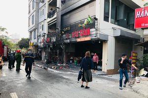 Hà Nội: Cháy lớn tại nhà hàng trên phố Thượng Đình