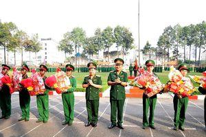 TP Hồ Chí Minh: 698 quân nhân xuất ngũ trước Tết Nguyên đán 2021