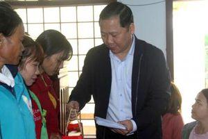 Bình Định: 'Xuân yêu thương' đến với đồng bào miền núi