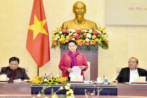 Chủ tịch QH Nguyễn Thị Kim Ngân chủ trì phiên họp thứ hai, Hội đồng Bầu cử quốc gia