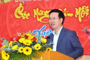Đồng chí Võ Văn Thưởng thăm, chúc Tết tại Quảng Ngãi
