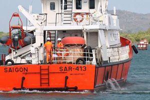 Nỗ lực tìm kiếm bảy ngư dân gặp nạn trên biển Côn Đảo