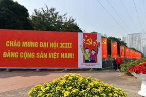 Hà Nội rực rỡ cờ hoa chào mừng Đại hội lần thứ XIII của Đảng