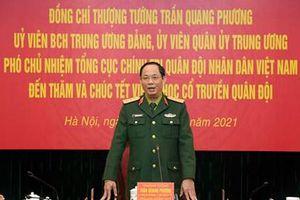 Thượng tướng Trần Quang Phương thăm, kiểm tra, chúc Tết Viện Y học cổ truyền Quân đội