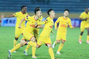 Đội hình tiêu biểu vòng 1 V.League 2021: 4 cầu thủ Nam Định góp mặt