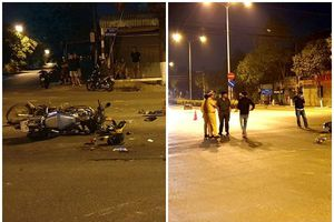 TP.HCM: Xe máy vượt đèn đỏ gây tai nạn, 5 người thương vong
