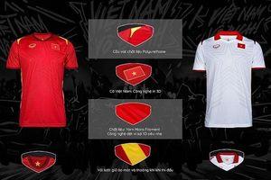 Đội tuyển Việt Nam công bố trang phục mới trong năm 2021