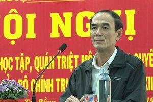 Bí thư huyện Trà Bồng được bổ nhiệm làm Giám đốc Sở Công thương Quảng Ngãi