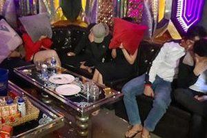 Bắt giữ nhóm thanh niên nam, nữ đang phê ma túy trong quán karaoke