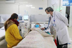Bệnh viện Đại học Y khoa Vinh triển khai chạy thận nhân tạo