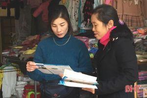 Cộng tác viên dân số nhiệt tình, tâm huyết với người dân nông thôn Hà Tĩnh