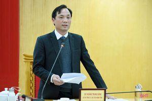 Thống nhất kế hoạch triển khai công tác bầu cử đại biểu Quốc hội và HĐND các cấp tại Hà Tĩnh