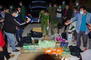 Phát hiện vụ vận chuyển ma túy lớn nhất từ trước đến nay tại Đồng Tháp