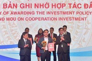 Đất Xanh Miền Trung nhận quyết định đầu tư KĐT Bảo Ninh 1 tại Hội nghị xúc tiến đầu tư tỉnh Quảng Bình 2021