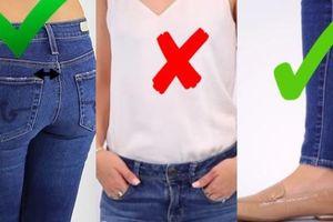 4 lỗi khi mặc quần jeans khiến bạn thành thảm họa thời trang